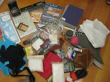 Assorted Art/Craft supplies..Mostly NEW! EC. Grab a bargain Melbourne Region Preview