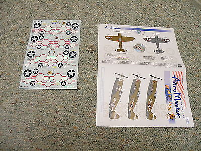 Aeromaster decals 1/72 72-189 Debden jugs Part II N38
