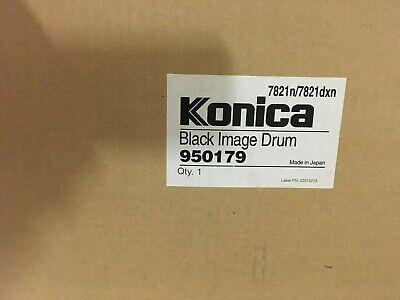 Konica Minolta Image Drum (950179-Genuine Konica Minolta Black Image Drum, OEM)