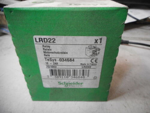 SCHNEIDER ELECTRIC TeSys Thermal Overload Relay 30....38amps -- 034686 -- LRD35