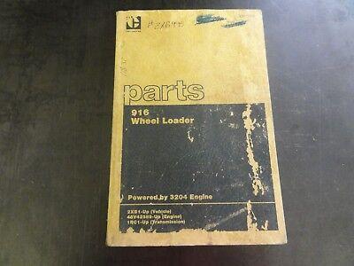 Caterpillar Cat 916 Wheel Loader Parts Manual  Sebp1504