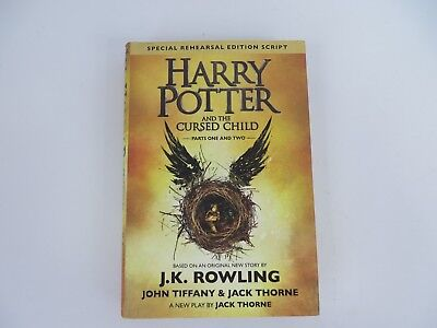 Harry Potter And The Cursed Child Parts One And Two Special Rehearsal Ed  7795