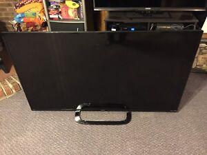 """Sharp 65"""" LCD TV for Parts (broken)"""