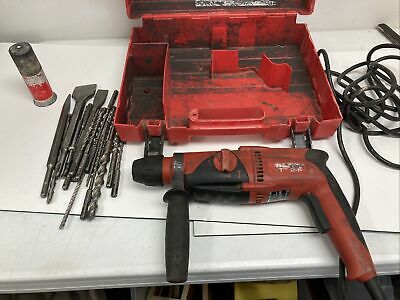 Hilti Te 2-s Rotary Hammer Drill With Case And Drill Bits