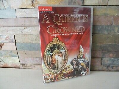 A QUEEN IS CROWNED DVD UK  - FAST/FREE POSTING