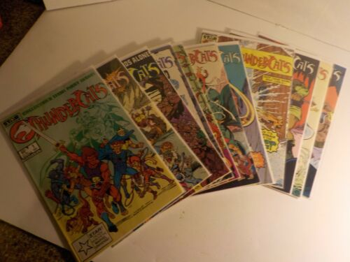 Thundercats Comic Book lot #1-8 + 11 15 19 Star Comics/ Marvel