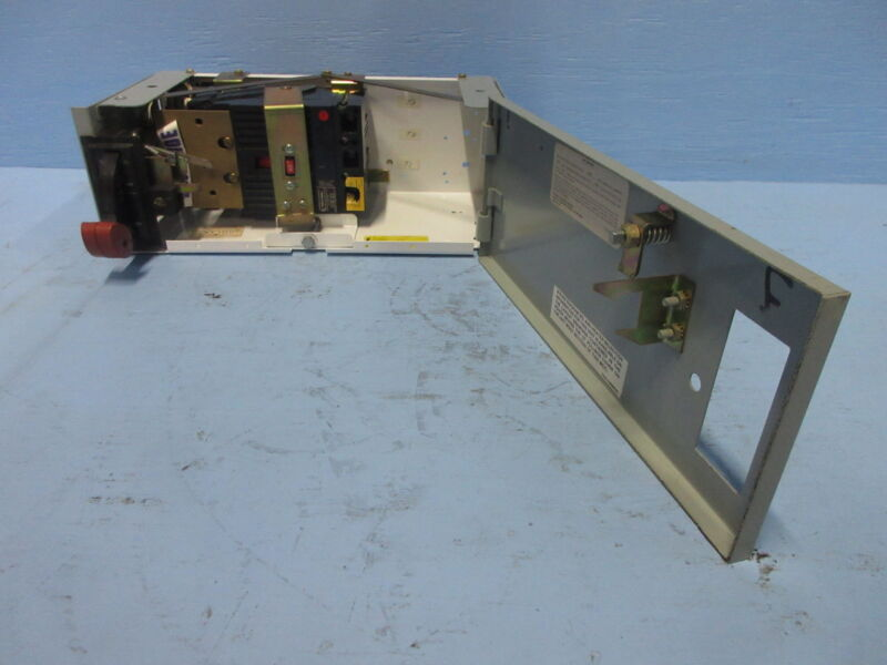 """General Electric GE 8000 60 Amp Breaker Type 6"""" MCC Feeder Bucket 60A THED136060"""