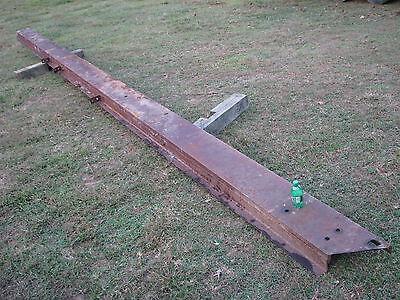 10 Wide X 25 6 Long Steel Channel Iron Beam