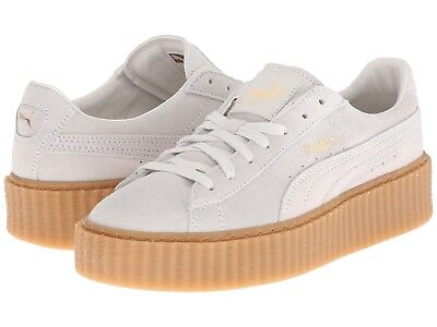 Fenty X Puma Rihanna Suede Creepers Sneakers Star White / Oatmeal EU38 5, used for sale  Shipping to South Africa