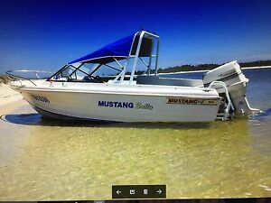 Mustang marine boat Woodville Port Stephens Area Preview