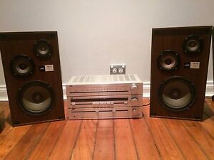Jvc retro stereo and speakers Beverly Hills Hurstville Area Preview