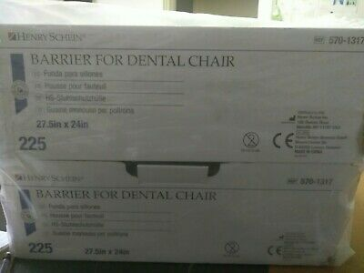 New Henry Schein Dental Chair Covers 27 12 X 24 225 Pieces