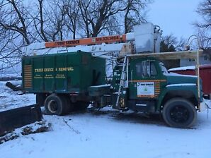 Forestry boom truck
