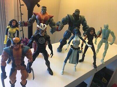 8 ToyBiz X-MEN Marvel Legends Colossus Mystique Astonishing Wolverine Havok Apoc