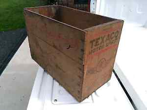 Texaco motor spirits box Tarleton Latrobe Area Preview