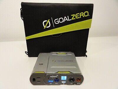 GOAL ZERO Sherpa 50 AC POWER BANK + INVERTER + NOMAD 13 SOLAR PANEL / BUNDLE