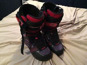 Flow Snowboarding Boots, used once 180 obo