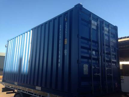 FOR SALE NEAR BRAND NEW 20FT SHIPPING CONTAINERS Gracemere Rockhampton City Preview