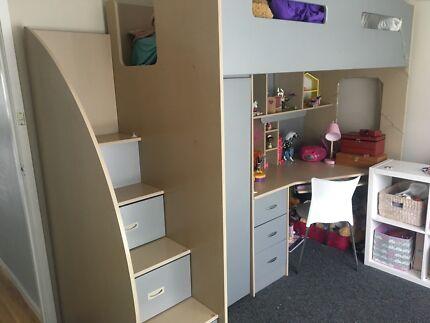 Odyssey Space Saver Loft Bed Beds Gumtree Australia Kingborough