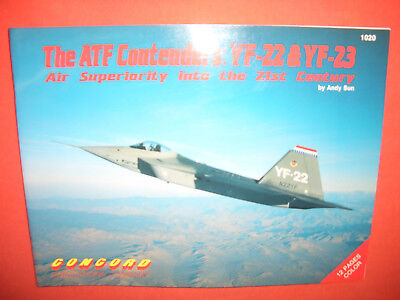Concord 1020, The ATF Contenders: YF-22 & YF-23