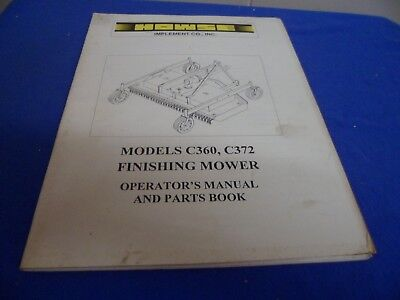 Used Finish Mower   Owner's Guide to Business and Industrial