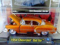 2020 M2 MACHINES 1954 CHEVROLET BEL AIR AUTO THENTICS R59 20-28 1:64 CAR