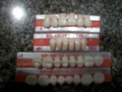 Solarex Vf Vacuum Fired Porcelain Denture Teeth Full Set