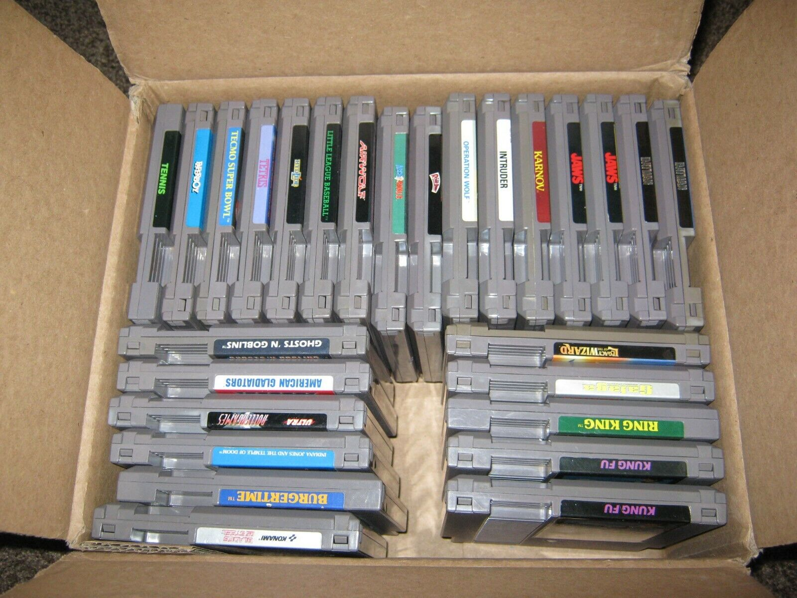 Купить Nintendo - NES GAMES  CLASSIC TITLES GOOD LABELS TESTED WORK LQQK!