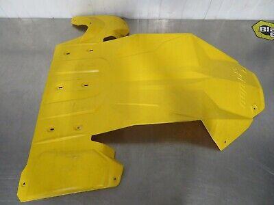 Ski-Doo New OEM Extreme Skid Plate 860201033 White REV-XM REV-XS