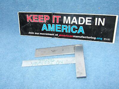 Starrett No.55 4-12 Square Beveled Edge Toolmaker Machinist Other Usa Squares