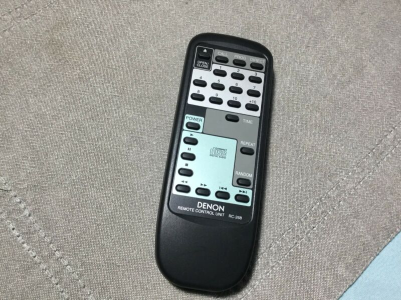 DENON CD PLAYER REMOTE CONTROL RC-268 for DCD6.5 SERIES - TESTED WORKS