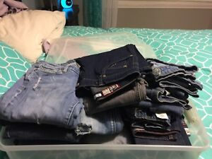 22 Pairs of Jeans - All for $50 firm