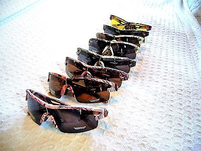 MEN'S WOMEN'S CAMO SUNGLASSES CAMOUFLAGE HUNTING~BIG BUCK IWEAR GLARE PROTECTION
