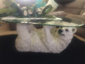 Polar bear lamp and table Bidwill Blacktown Area Preview