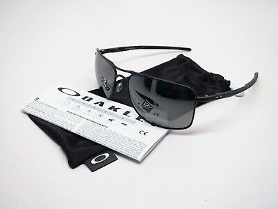 Oakley Gauge 8 L OO4124-0262 Matte Black w/Prizm Black Polarized Sunglasses 62mm