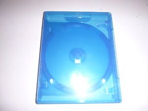 1 x DOUBLE BLU RAY AMARAY CASE 14mm (NEW) HOLDS 2 DISCS