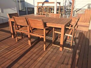 Outdoor Dining Set North Lambton Newcastle Area Preview
