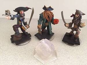 Pirates of the Caribbean Figures Disney Infinity 1.0 EUC COMPLETE Nundah Brisbane North East Preview
