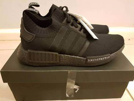 Adidas NMD R1 Triple Black Japan | Size 9 UK