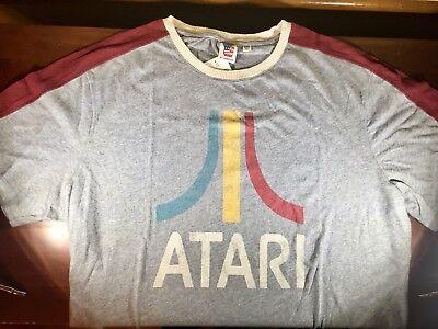 Junk Food Atari Retro Hi-Score Gaming Mens T-Shirt Vintage Arcade Graphics 2XL