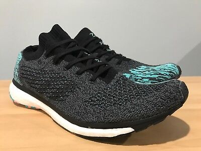 newest 3fabc f7402 Adidas Men s Adizero Prime Boost Running Shoes Black Blue Size 10 BB6564