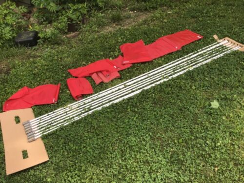 Used Golf Flag Stick, set of 9 Flagsticks (flags Included) 85 inch