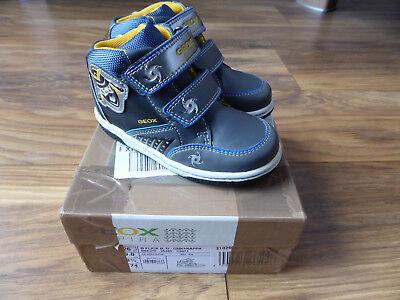 GEOX Kinderschuhe Kinderstiefel Jungen Größe 26 Blink-Schuhe Ninjago NEU