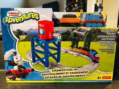 Thomas & Friends Adventures - Steamies Fuel-Up Track & Engine Playset BRAND NEW