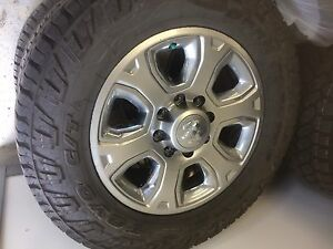 "Dodge Ram 3500 set. 20"". Toyo Open Country CTs"