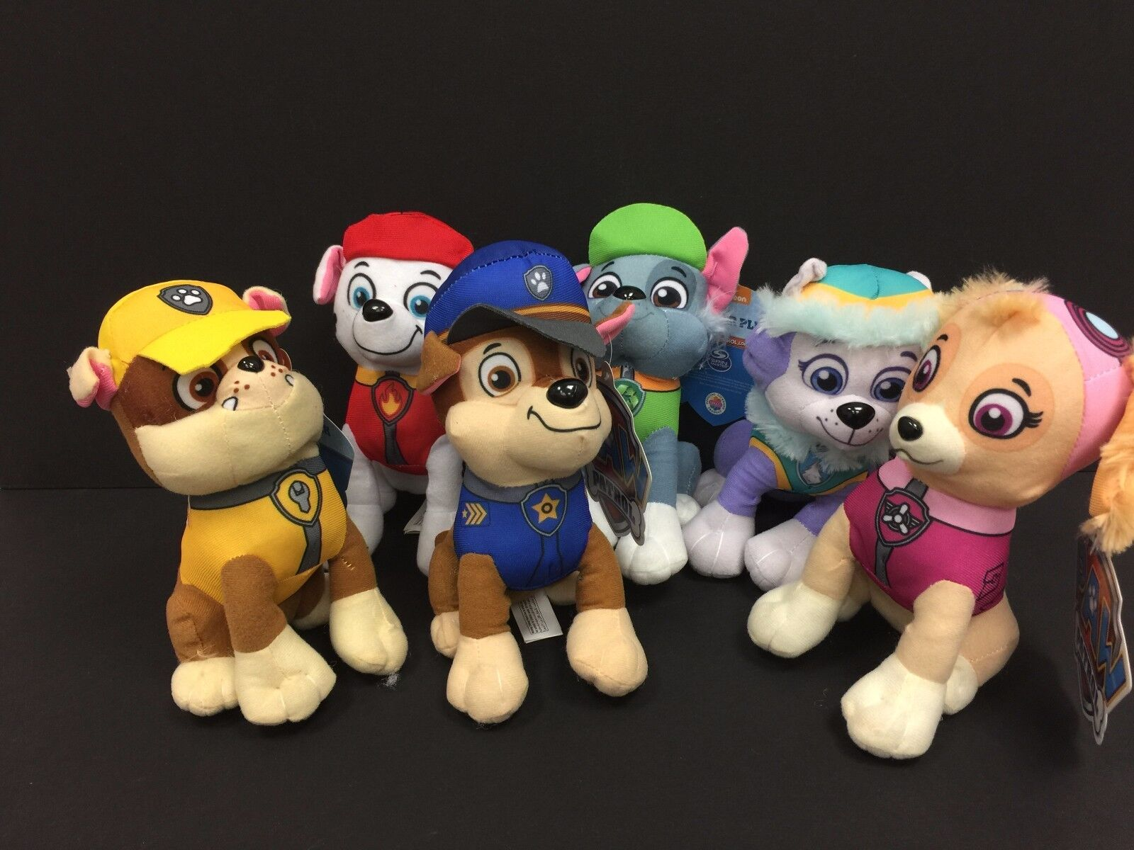 Paw Patrol Plush Stuffed Animal Toy Set - 10""