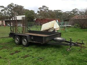 12 x 6 Tandem Plant Trailer Maldon Mount Alexander Area Preview