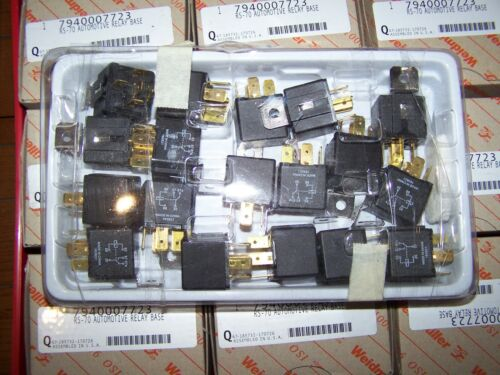 (18) Tyco Electronics 1432797-1 Automotive Relay 24vdc 40amp SPDT Panel 163621