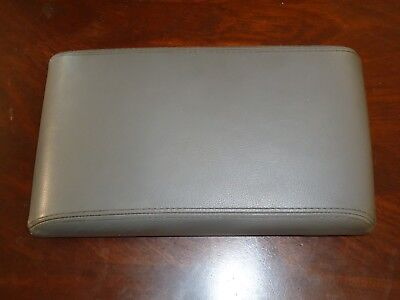 Infiniti QX4 Console Lid 1997-2000 Infiniti QX4 OEM Armrest Lid Dark Gray Grey