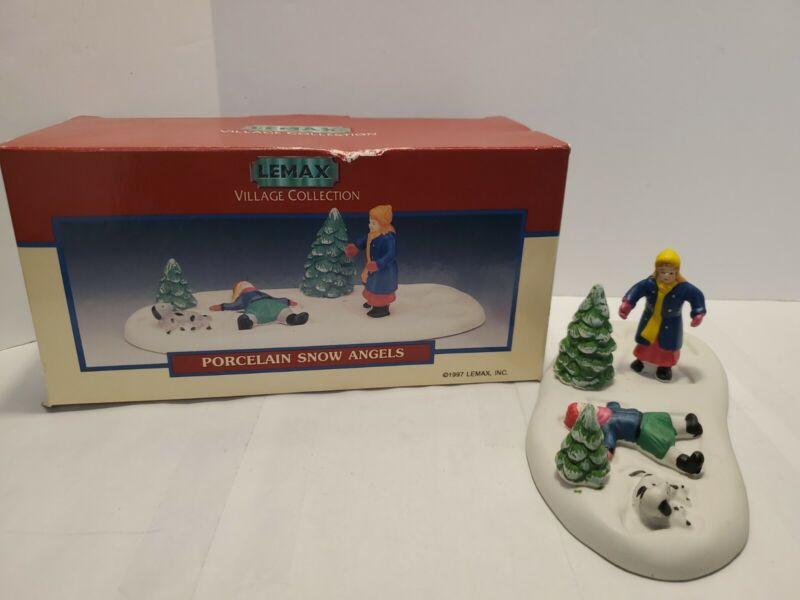 Vintage Lemax 1997 Snow Angels Village Collection #73221 Porcelain